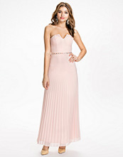 Elise Ryan Embellished Waist Bandeau Maxi Dress