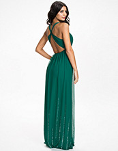 NLY Eve Twisted Back Bead Dress