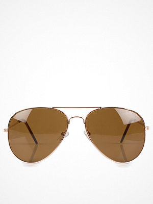 Solglasögon - NLY Accessories Pilot Sunglasses Brun