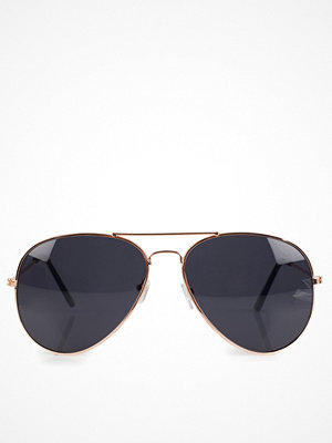 Solglasögon - NLY Accessories Pilot Sunglasses Svart