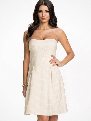 Glamorous Bandage Bandeau Mini Dress Cream