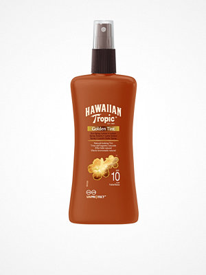 Solning - Hawaiian Tropic Golden Tint Sun Spray Lotion SPF 10 200 ml Brun