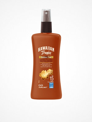 Solning - Hawaiian Tropic Golden Tint Sun Spray Lotion SPF 15 200 ml Brun