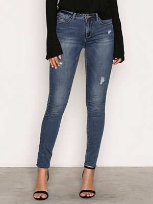 Only onlULTIMATE Reg Sk Jeans BJ5001-3 N Denim Blå