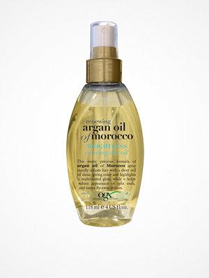 Hårprodukter - OGX Argan Oil Weightless Healing Oil Transparent