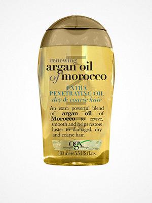 Hårprodukter - OGX Argan Oil Extra Penetrating Oil Transparent