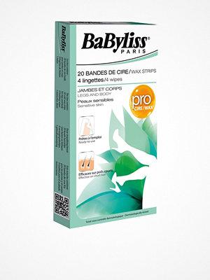 Hårborttagning - BaByliss Paris Vaxremsor Känslig Hud Vit