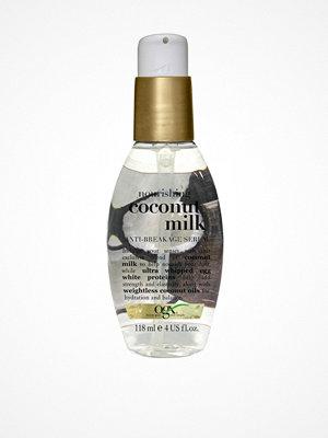Hårprodukter - OGX Coconut Milk Anti-Breakage Serum Transparent