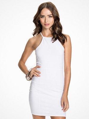 NLY Trend High neckline dress Vit