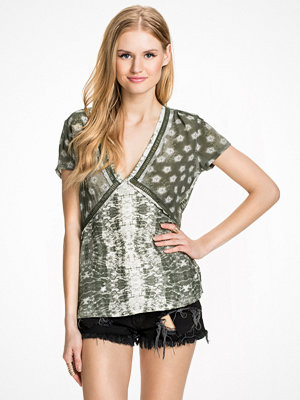 Non Sense SS Blouse Army Green