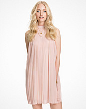 Club L Pleated High Neck Dress