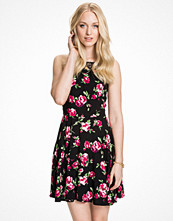 Ax Paris Lace Floral Skater Dress