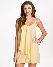 NLY Blush Draped Side Dress