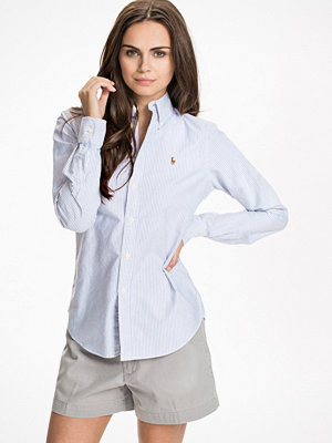 Polo Ralph Lauren Harper Long Sleeve Shirt Blå/Vit