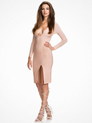 NLY One V Neck Midi Dress