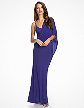 Club L Wrap Over Maxi Dress