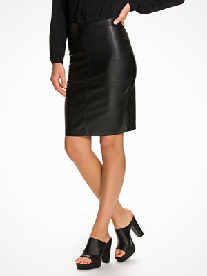 Vila Vipen New Skirt Svart