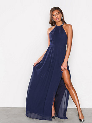 NLY Eve Halterneck Beaded Gown Navy