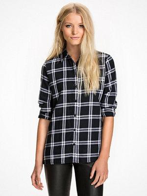 Only onlSTOCKHOLM Cici L/S Shirt Noos Wv Svart