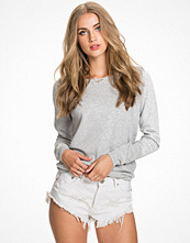 Vero Moda Vmcare Structure Ls O-Neck Blouse N Light Grey Melange