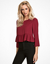 NLY Trend Pleated Hem Blouse