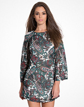 Only onlPIKAZ FLARED 7/8 AOP DRESS JRS