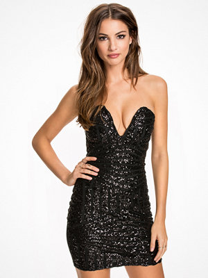 NLY One Bombshell Short Dress Svart