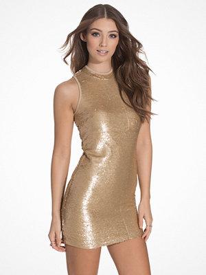 Glamorous Sequin Bodycon Golden