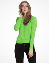 Polo Ralph Lauren Julianna-Classic-Long Sleeve-Sweater Green