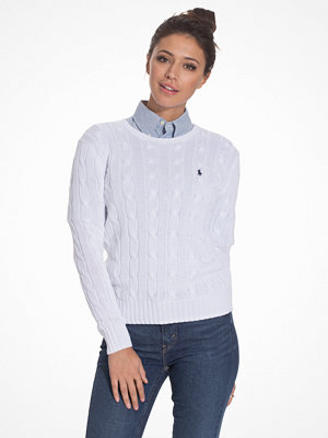 Polo Ralph Lauren Julianna-Classic-Long Sleeve-Sweater White