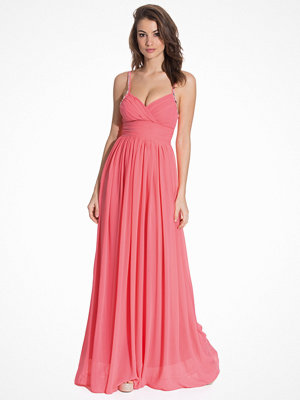 NLY Eve Crystal Maxi Giown Pink