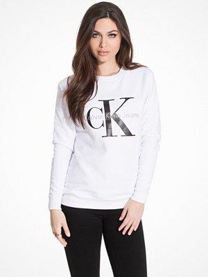 Calvin Klein Jeans Crew Neck Hwk Bright White