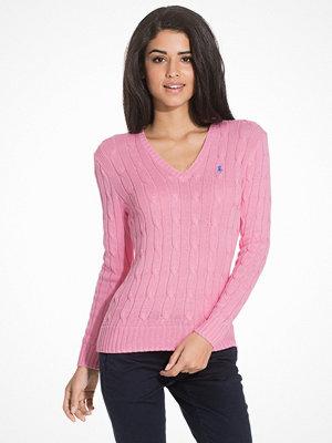 Polo Ralph Lauren Kimberly Long Sleeve Sweater Pink Flamingo