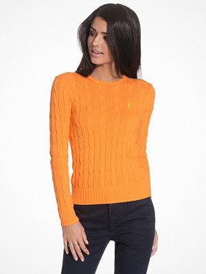 Polo Ralph Lauren Julianna Long Sleeve Sweater Orange Blossom