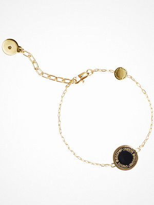 Marc Jacobs armband Enamel Logo Disc Bracelet Oro