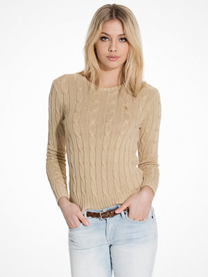 Polo Ralph Lauren Julianna-Classic-Long Sleeve-Sweater Natural