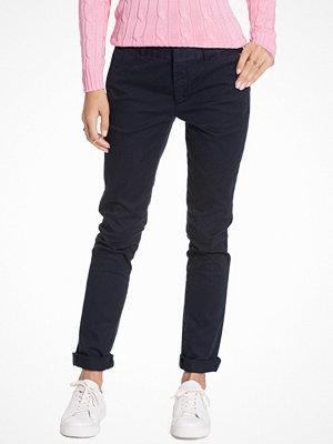 Polo Ralph Lauren svarta byxor Brooke Skinny Chino Pants Navy