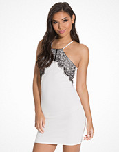 NLY One Lace Trim Bodycon Dress