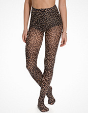 Strumpbyxor - Pamela Mann Small Leopard Printed Tights