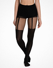 Strumpbyxor - Pamela Mann Plain Stripe Suspender Tights