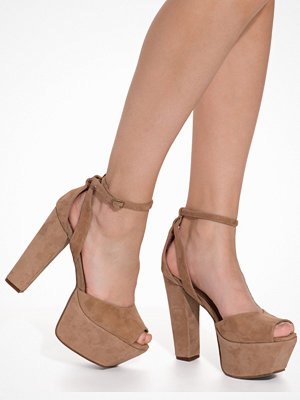 Pumps & klackskor - Jeffrey Campbell Perfect-2 Tan
