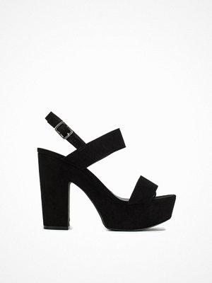 NLY Shoes Platform Chunky Sandal Svart