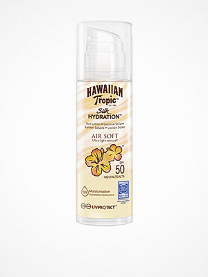 Solning - Hawaiian Tropic Silk Hydration Air Soft Pump Sun Lotion SPF 50 150 ml Vit