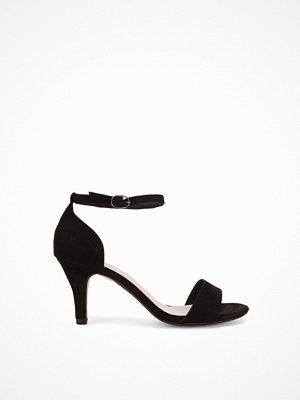 Pumps & klackskor - Bianco Low Basic Sandal Svart