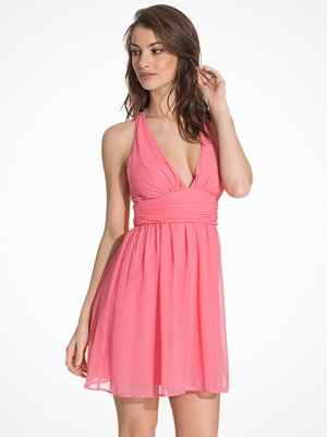 NLY One Short Empire Dress Rosa