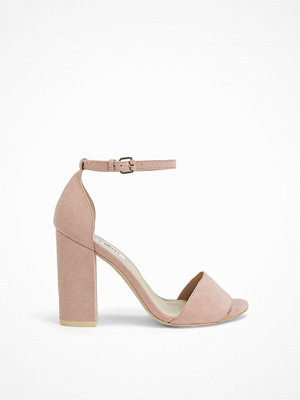Pumps & klackskor - NLY Shoes Block Heel Sandal Dusty Pink