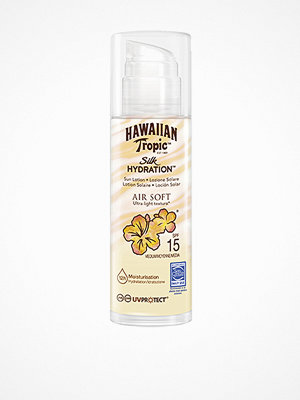 Solning - Hawaiian Tropic Silk Hydration Air Soft Pump Sun Lotion SPF 15 150 ml Vit