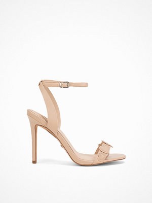 Topshop Romantic Heart Sandals Beige