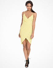 NLY One Wrap Over Crepe Dress