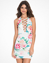 NLY One Criss Cross Plunge Dress